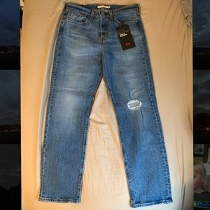 Brand new Levi's wedgie straight jeans